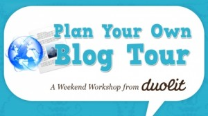 plan your own blog tour workshop